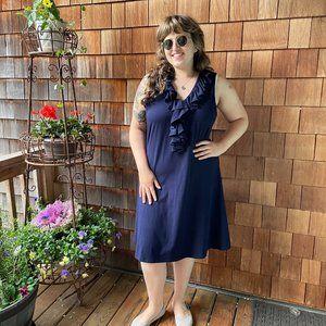 NWOT Ralph Lauren Blue Knit Dress - Women's 3X